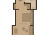 Plan Hotel Villa Désirée Appartment B