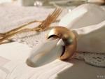 Romantische Tischdekoration im Erwachsenenhotel Villa Désirée