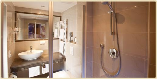 Badezimmer Erwachsenenhotel Villa Désirée